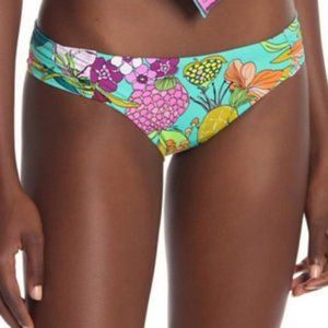 NWT Trina Turk West Shirred Hipster Bottom swim